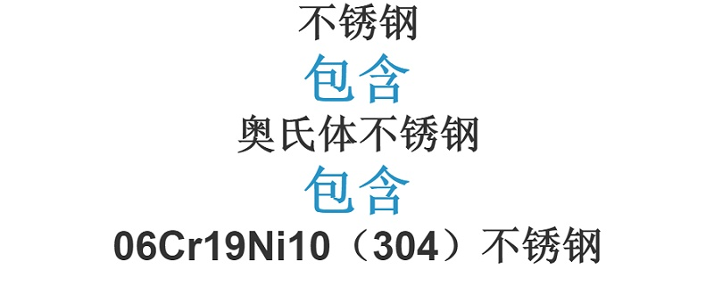 304不锈钢是食品级不锈钢