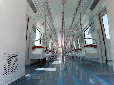 国内首个6编组A型304L不锈钢全自动地铁车辆进入调试阶段