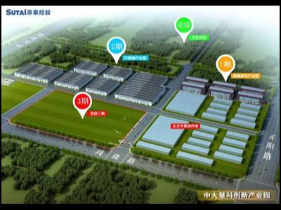 淄博周村一座国内一流的不锈钢产业服务基地呼之欲出