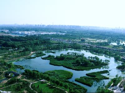 太钢304L不锈钢工业园中标北京温榆河公园不锈钢小品项目