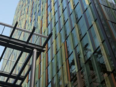316不锈钢为摩天大楼增添一抹靓丽色彩