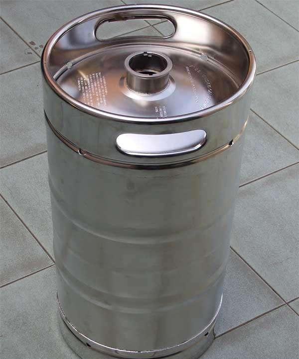 304L食品级别不锈钢啤酒桶