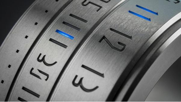 316L低碳不锈钢戒指番外篇:让时间在手指间行走—时间戒指!