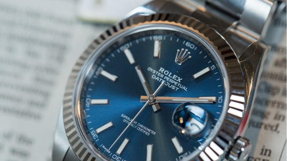 中兴溢德904L不锈钢应用在高端手表上