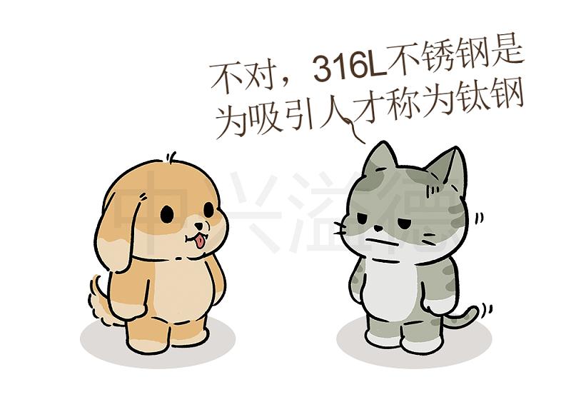 阿猫&阿狗的日常:钛钢=316L不锈钢4
