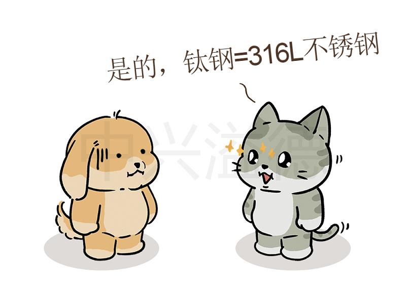 阿猫&阿狗的日常:钛钢=316L不锈钢8
