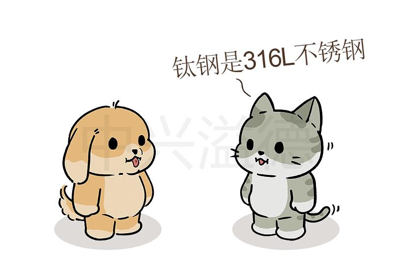 阿猫&阿狗的日常:钛钢=316L不锈钢2
