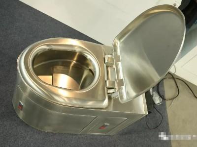 拉粑粑神器 | 抗菌不锈钢马桶,你敢坐吗?
