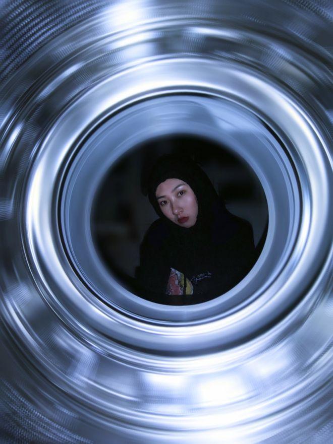 洗衣机自拍照1