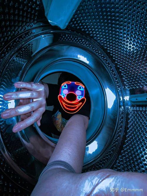 洗衣机自拍照2