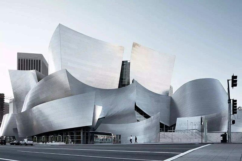 建筑幕墙-迪士尼音乐厅
