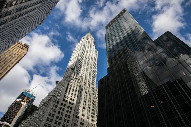 纽约克莱斯勒大楼