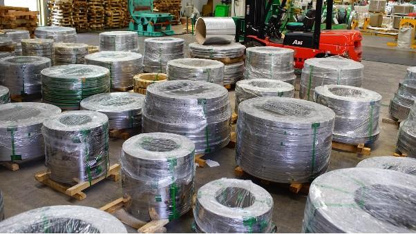 不锈钢带生产厂家 无锡中兴溢德 钢带供应商