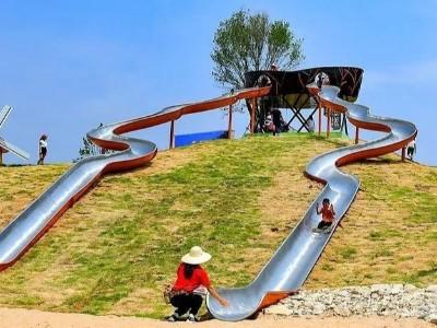 应用案例 | 相比传统塑料滑梯,新型的304L不锈钢滑梯有哪些优势?