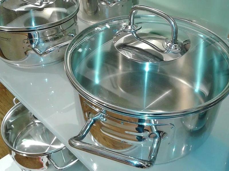 厨房用不锈钢锅归入税号73239300