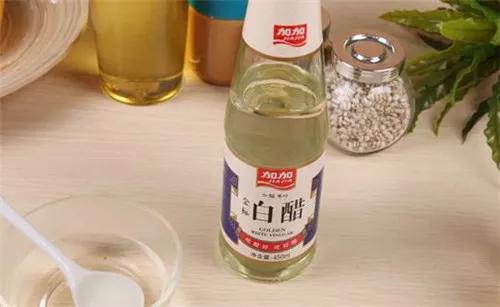 4.白醋清洁法