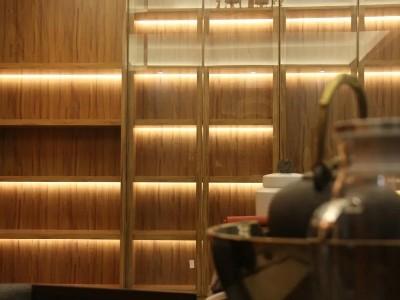 应用案例 | 这304L不锈钢柜子太好看了吧,像是原木做的柜子