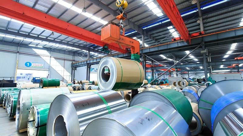 环保节能新型不锈钢板卷管一体化项目