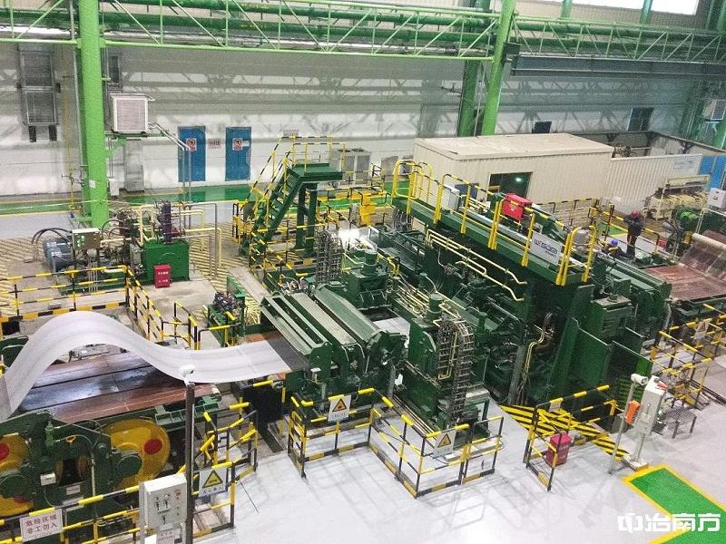 酒钢连续酸洗机组激光焊机工程