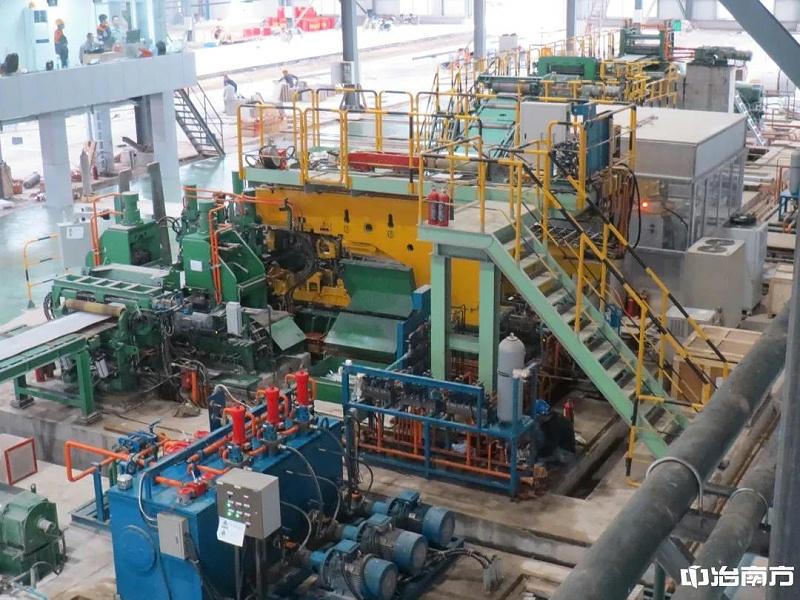 青山集团850mm六机架四辊全连轧激光焊机工程