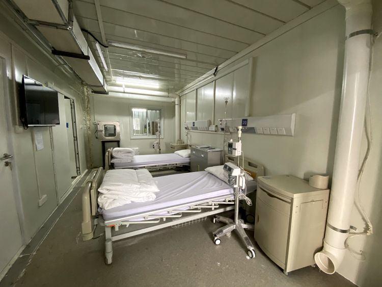 火神山医院病房
